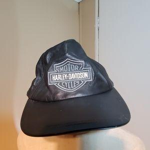 HARLEY-DAVIDSON Ajustable Leather Hat